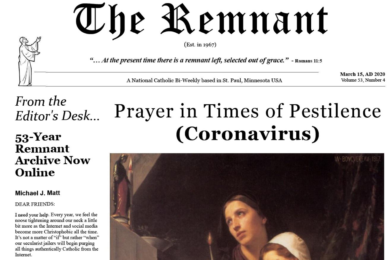 The Remnant Newspaper